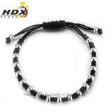 普及したハンドメイドの鎖の宝石類の方法多彩なステンレス鋼のビードのブレスレット