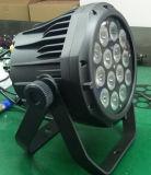 PARIDADE do diodo emissor de luz de 14X10W 6in1 com Powercon removível