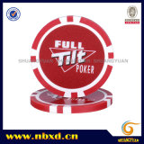 microplaqueta do póquer da etiqueta 11.5g com etiquetas disponíveis, Sy-D17b-1