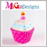 Оптовая продажа керамическая с коробкой монетки торта Рук-Печатание форменный