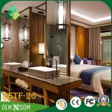 Conjunto de sala de estar árabe de los muebles del hotel de madera sólida del estilo (ZSTF-26)