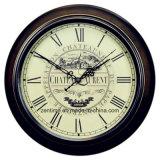 Orologio di parete promozionale della decorazione dell'oggetto d'antiquariato domestico di figura rotonda