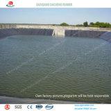 品質は2mmに養魚場の池はさみ金のHDPE Geomembraneを約束した