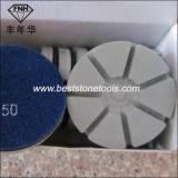 Folhas de polimento seco de resina de diamante para concreto