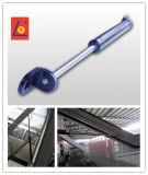 温室の外のガラス部屋のためのガスの支柱