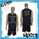 新しいモデル100%年のポリエステル速い乾燥した昇華バスケットボールのユニフォーム(BK010)