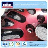 Efecto metálico en polvo electrostático de revestimiento por pulverización en polvo de piezas de automóviles