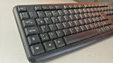 Adaptador preto novo do teclado do USB da chegada Djj2116 104keys para a HOME e o escritório