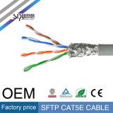 Sipu Plattfisch-Durchlauf SFTP Cat5e Netz-Kabel des LAN-Kabel-Cat5