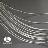 Bobina de plata de cobre eléctrica del alambre para los puntos de contacto de plata del contacto eléctrico