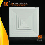 Whosale Aluminiumgitter-Quadrat-Luft-Diffuser (Zerstäuber) der Luft-4-Way