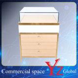 飾り戸棚(YZ161709)のステンレス鋼の陳列ケースの表示棚の表示ショーケース展覧会のキャビネットの店のカウンター