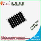 12V 소규모 시설을%s 18V 5W 단청 태양 모듈 (2017년)