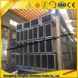 China-Fertigung-Aluminiumprofil für Windows u. Tür-Zwischenwand-Aufbau-Profil