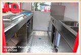 Véhicule d'aliments de préparation rapide de remorque de chariot de nourriture de la qualité Ys-Fv300