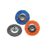 Латунное колесо провода чистит чашку щеткой для инструментов Dremel ржавчины роторных