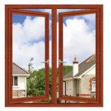 China-Lieferanten-Aluminiumglasfenster-Preis mit Rollen-Luftschlitz-Vorhängen