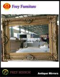 Mosaic Design Frame de espelho de madeira de parede decorativa