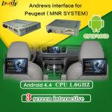 Mais recente Sistema Quad-Core Car Mrn System Sistema de Navegação Android para o Peugeot 2008/208/408/508 Aplicativos de Suporte Download