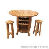 Vector caliente del barril de vino de las ventas que visualiza los muebles con precio de fábrica
