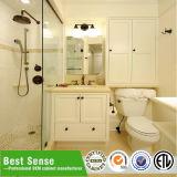 Cabina de cuarto de baño abierta del Suelo-Roble del doble clásico