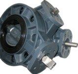 Válvula de mariposa del actuador no neumático del PVC Dn50-Dn300