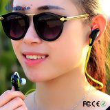 Os melhores auscultadores estereofónicos sem fio de venda dos esportes do fone de ouvido de Bluetooth mini para o telefone móvel
