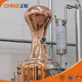 De gebruikte Industriële Kolom van de Distillatie van het Koper voor het Maken van de Wijn