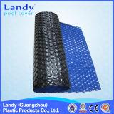 Couvertures bleues/noires de double couleur d'Anti-Algues de Landy de fabrication de piscine pour les syndicats de prix ferme d'intérieur