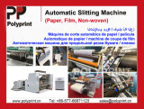 Machine de découpe en papier / film / non-tissé de bonne qualité
