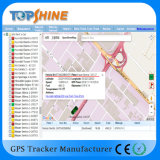 Veículo que seguem e sistema de gestão GPRS01 da frota que segue a plataforma