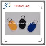 Цветастая бирка материала Tk4100 RFID ABS ключевая