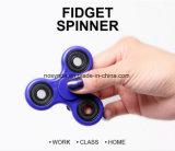 Spielzeug-Handspinner-Finger-Spinner-Unruhe-Spinner des heißen Verkaufs-2017 Tri