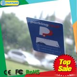 Scheda di parcheggio del parabrezza RFID di frequenza ultraelevata H3 dello straniero 9662 della mpe Gen2 con il codice di QR
