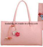 レトロの花ペンダントおよびキャンデーカラーデザイン女性のトートバック(BDMC012)