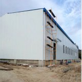 Atelier galvanisé d'abattoir de structure métallique avec le meilleur modèle