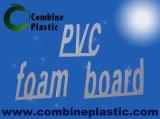 Le panneau rigide de PVC de couleur blanche a émulsionné des produits