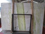 Широко используемые дешевые слябы цены мрамора нефрита цвета Средней Азии