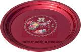 Bandeja Tey con color rojo