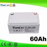 Baterías del gel de la batería de plomo 12V 60ah VRLA de la capacidad plena