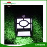 10 indicatore luminoso alimentato solare chiaro esterno economizzatore d'energia dell'indicatore luminoso Control+Sound Control+Dim della lampada della rete fissa della decorazione del giardino del LED