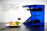 Visualização personalizada de garrafas acrílicas