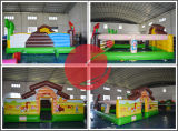 Der aufblasbare Fabrik-Preis unterhalten Park, aufblasbares Funcity für Verkauf (T6-035)