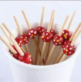 Schönes Grill-Hilfsmittel-Bambusfrucht-Aufsteckspindel/Stock/Auswahl (BC-BS1046)