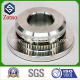 CNC de alumínio personalizado das peças sobresselentes do aço inoxidável da precisão que faz à máquina para a maquinaria