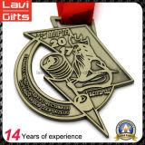 2017スポーツメダルの新しいカスタム亜鉛合金のリボン