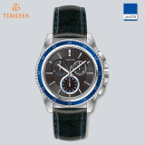 Montre de luxe de sport de montre de quartz d'hommes avec de l'eau 5ATM Resistant72533