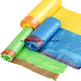 Оптовые мешки погани Drawtape, подгонянные мешки отброса Drawstring