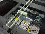 Impresora ULTRAVIOLETA de la caja del teléfono con efecto colorido
