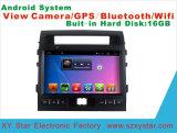 Android DVD-плеер автомобиля системы на крейсер земли экран касания 10.1 дюймов с GPS/WiFi/Bluetooth